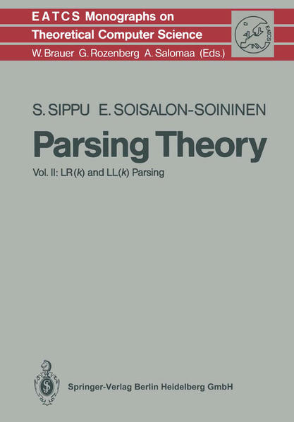 Parsing Theory - Coverbild