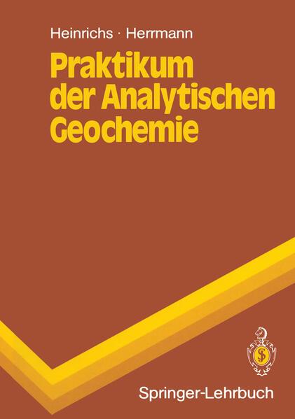 Praktikum der Analytischen Geochemie - Coverbild