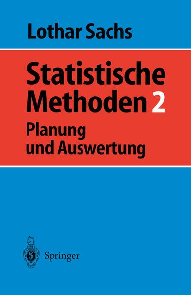 Statistische Methoden 2 - Coverbild