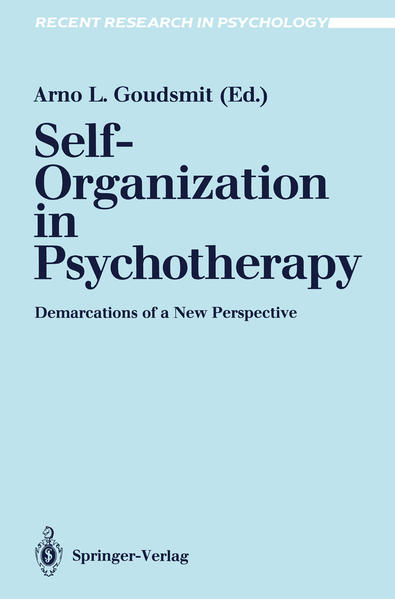 Self-Organization in Psychotherapy - Coverbild