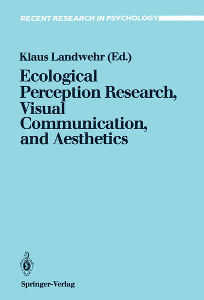 Ecological Perception Research, Visual Communication, and Aesthetics - Coverbild