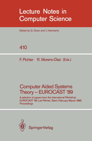 Computer Aided Systems Theory - EUROCAST '89 - Coverbild