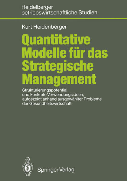 Quantitative Modelle für das Strategische Management - Coverbild