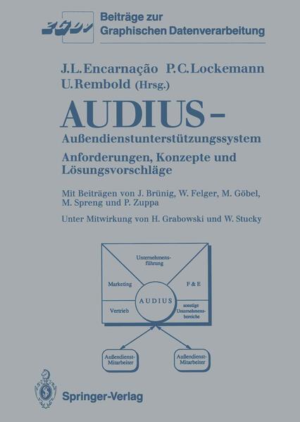 Audius—Außendienstunterstützungssystem - Coverbild