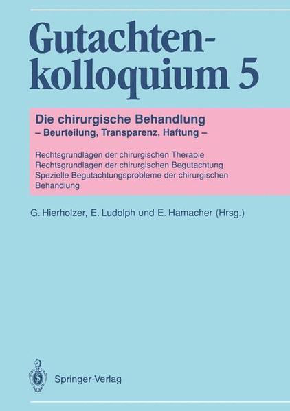 Gutachtenkolloquium 5 - Coverbild