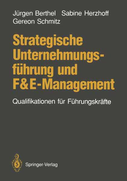 Strategische Unternehmungsführung und F&E-Management - Coverbild