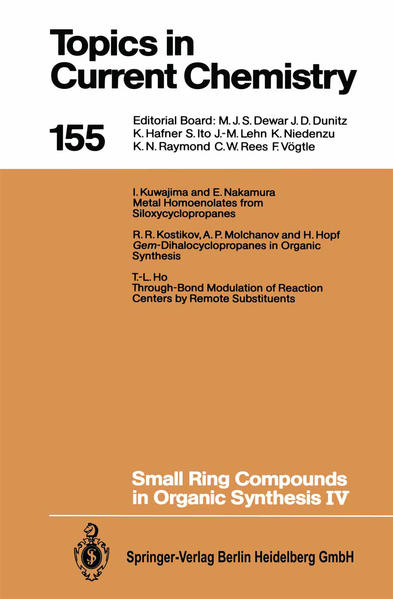 Small Ring Compounds in Organic Synthesis IV - Coverbild