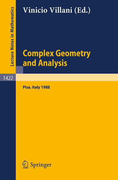 Complex Geometry and Analysis - Coverbild