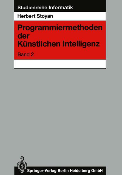 Programmiermethoden der Künstlichen Intelligenz - Coverbild