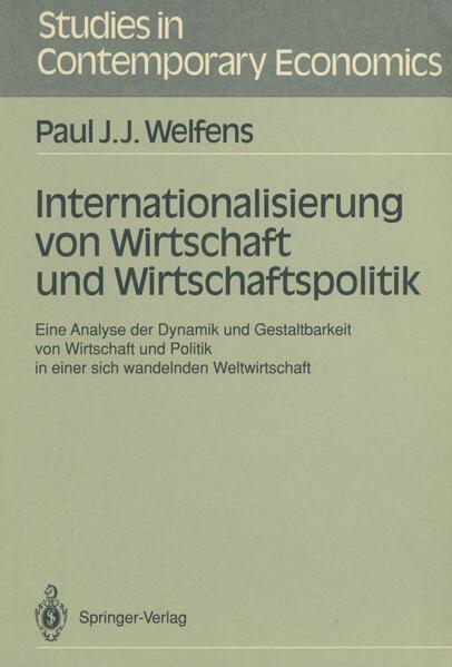 Internationalisierung von Wirtschaft und Wirtschaftspolitik - Coverbild