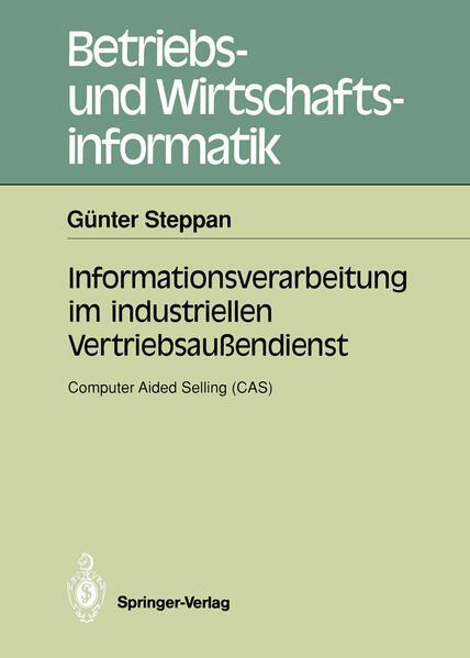 Informationsverarbeitung im industriellen Vertriebsaußendienst - Coverbild