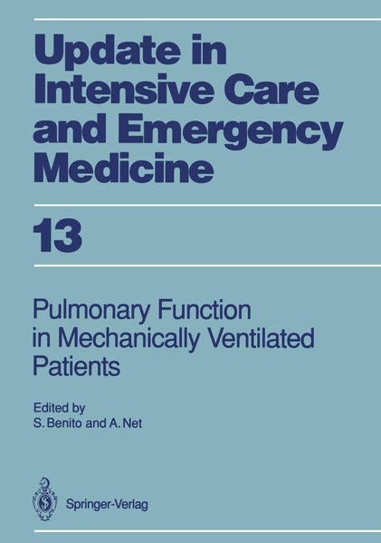 Pulmonary Function in Mechanically Ventilated Patients - Coverbild
