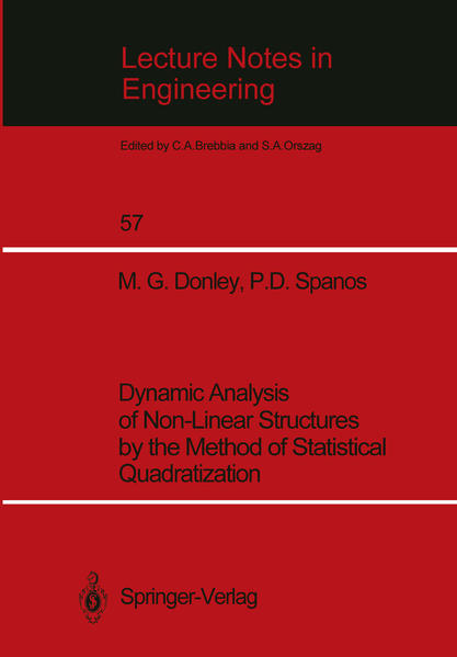 Dynamic Analysis of Non-Linear Structures by the Method of Statistical Quadratization - Coverbild