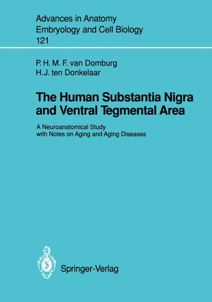 The Human Substantia Nigra and Ventral Tegmental Area - Coverbild