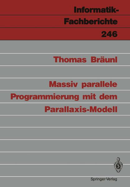 Massiv parallele Programmierung mit dem Parallaxis-Modell - Coverbild
