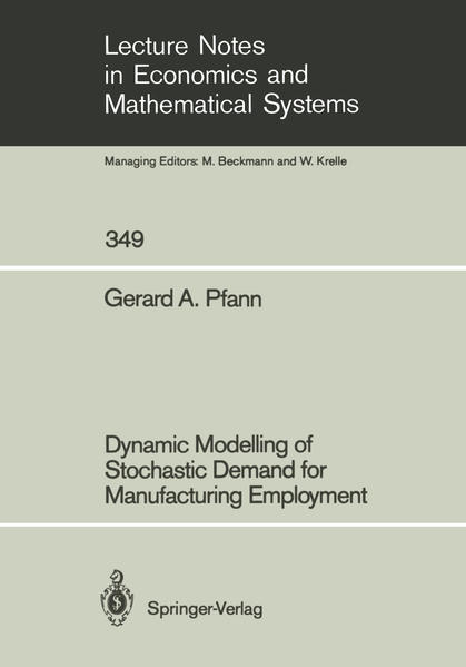 Dynamic Modelling of Stochastic Demand for Manufacturing Employment - Coverbild