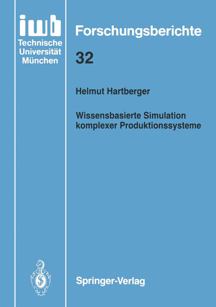 Wissensbasierte Simulation komplexer Produktionssysteme - Coverbild
