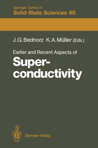 Earlier and Recent Aspects of Superconductivity - Coverbild