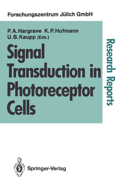 Signal Transduction in Photoreceptor Cells - Coverbild