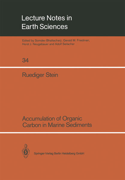 Accumulation of Organic Carbon in Marine Sediments - Coverbild