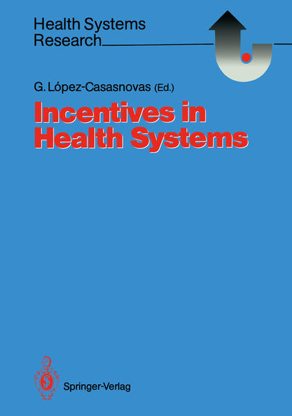 Incentives in Health Systems - Coverbild