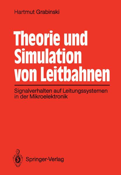 Theorie und Simulation von Leitbahnen - Coverbild