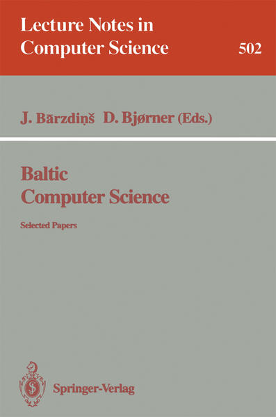 Baltic Computer Science - Coverbild