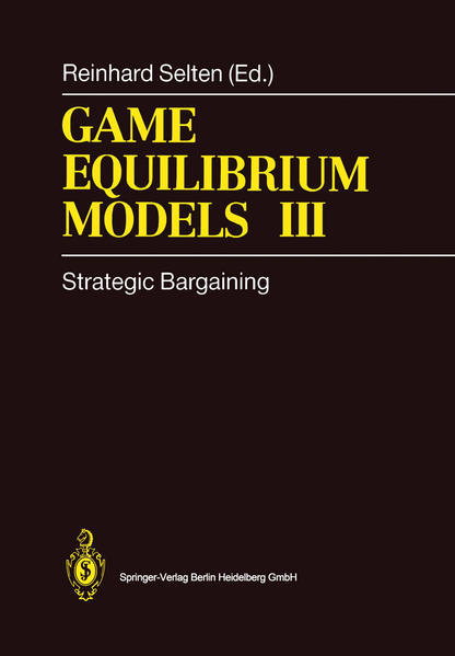 Game Equilibrium Models III - Coverbild