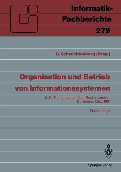 Organisation und Betrieb von Informationssystemen - Coverbild