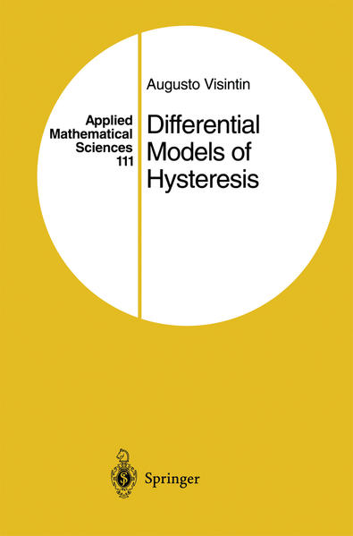 Differential Models of Hysteresis - Coverbild