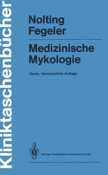 Medizinische Mykologie - Coverbild