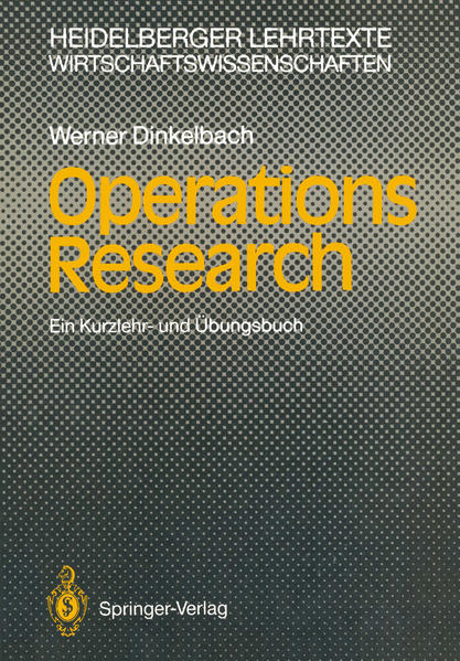 Operations Research - Coverbild