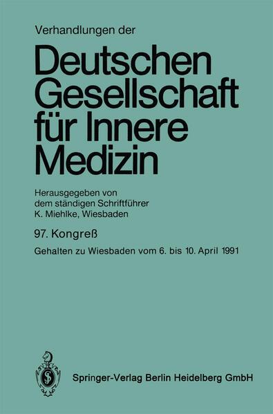 Verhandlungen der Deutschen Gesellschaft für Innere Medizin - Coverbild