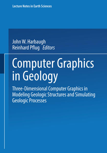 Computer Graphics in Geology - Coverbild