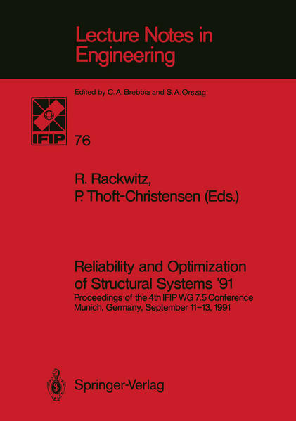 Reliability and Optimization of Structural Systems '91 - Coverbild
