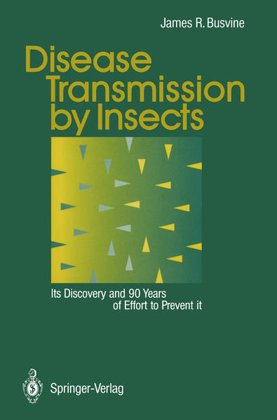 Disease Transmission by Insects - Coverbild