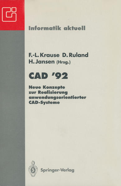 CAD '92 - Coverbild