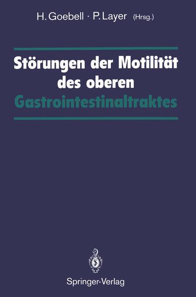 Störungen der Motilität des oberen Gastrointestinaltraktes - Coverbild