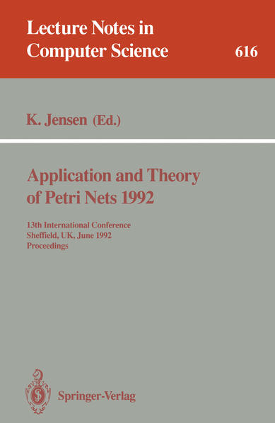 Application and Theory of Petri Nets 1992 - Coverbild