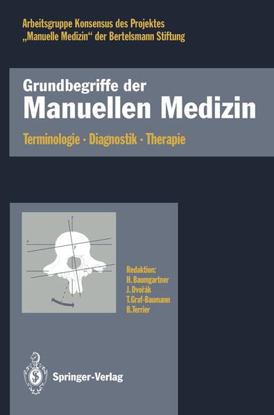 Grundbegriffe der Manuellen Medizin - Coverbild