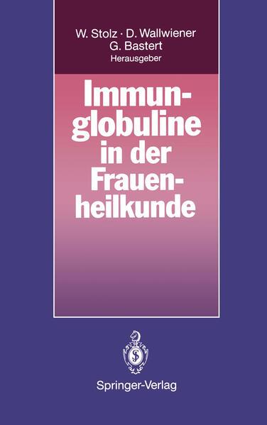 Immunglobuline in der Frauenheilkunde - Coverbild