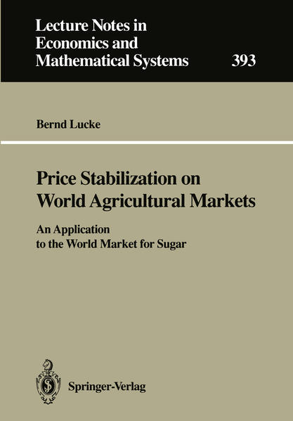 Price Stabilization on World Agricultural Markets - Coverbild