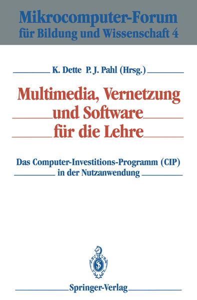 Multimedia, Vernetzung und Software für die Lehre - Coverbild