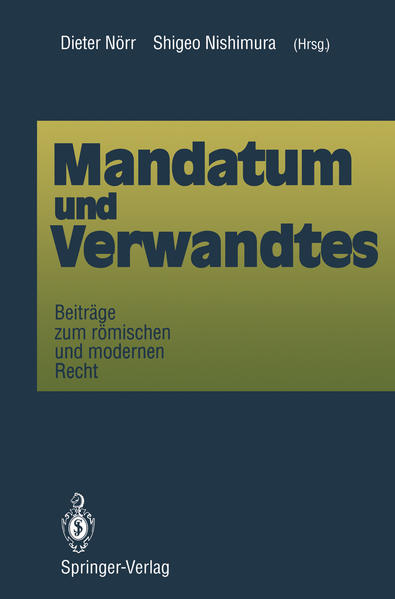Mandatum und Verwandtes - Coverbild