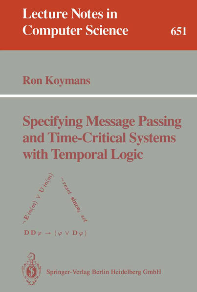 Specifying Message Passing and Time-Critical Systems with Temporal Logic - Coverbild