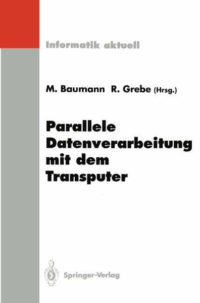 Parallele Datenverarbeitung mit dem Transputer - Coverbild