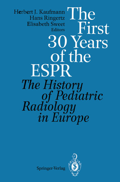 The First 30 Years of the ESPR - Coverbild