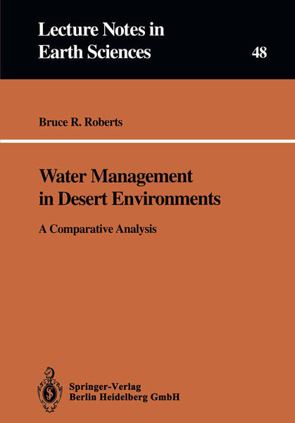 Water Management in Desert Environments - Coverbild
