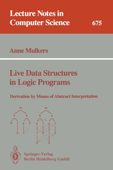 Live Data Structures in Logic Programs - Coverbild