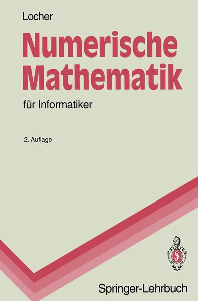 Numerische Mathematik für Informatiker - Coverbild